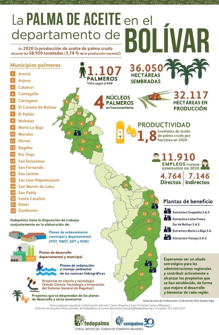 Infografia Bolivar 2021