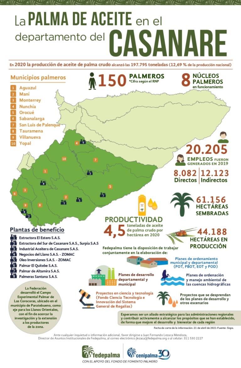 Infografia Casanare 2021
