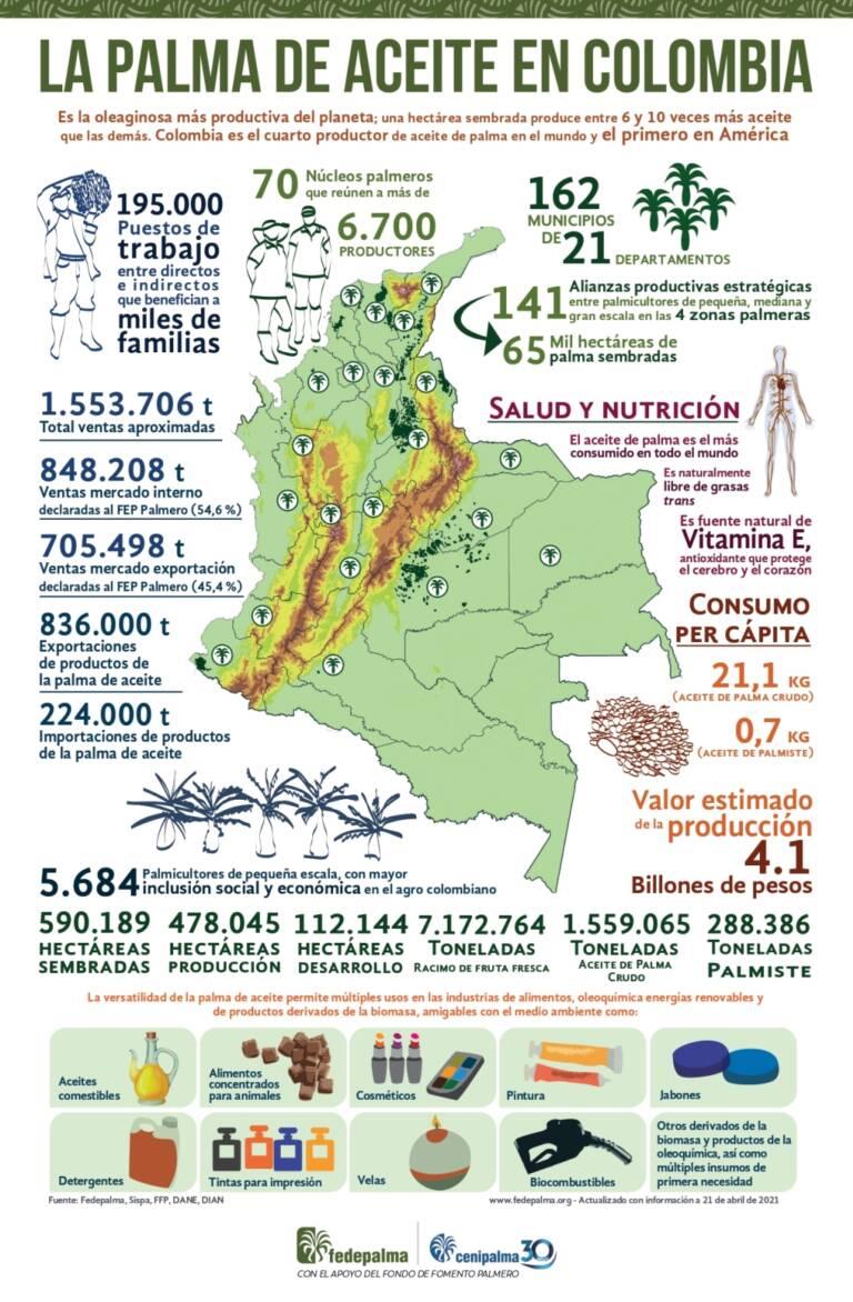 Infografia Colombia 2021 en espanol