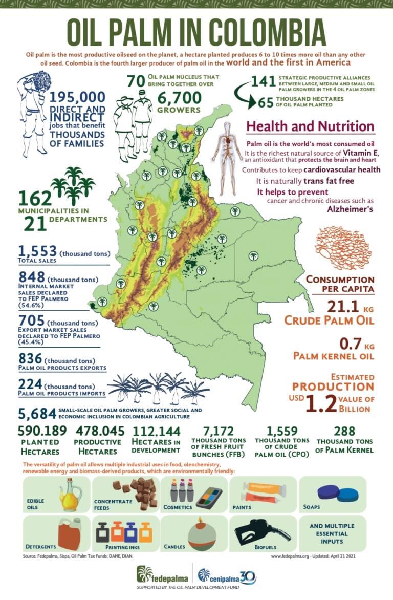Infografia Colombia 2021 en ingles